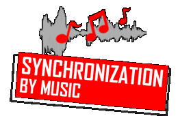 Synchronization by music